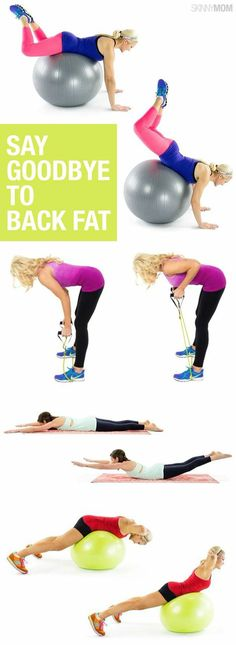 Lost the extra back fat with this upper body workout video!