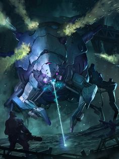 applibot - galaxy saga by Reza-ilyasa Cyberpunk, Big Robots, Alien Concept Art, Futuristic Art, Robot Design, Sci Fi Fantasy, Sci Fi Art, Saga, Science Fiction