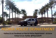 Peoria Police Department Peoriapd Profile Pinterest
