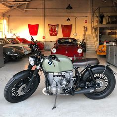 bmw, r100, custom, bobber