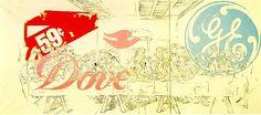 ' La Cène Dove '  by Andy Warhol
