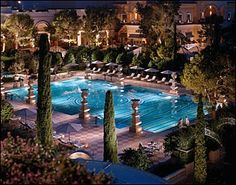 Bellagio Hotel Pool