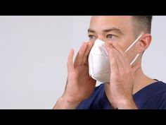 Donning and Fit Checking of Respirator in NSW Healthcare Settings: KN95 Cupped Respirator - YouTube