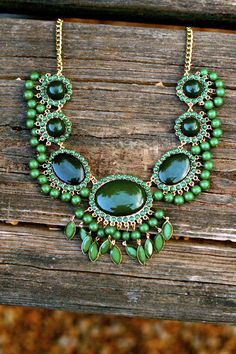 Reddress // Reach For Me Necklace-Jade - $32.00