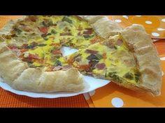 Torta salata ai peperoni - YouTube