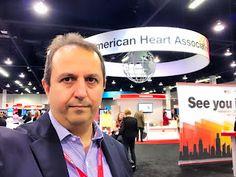 ΒΑΣΙΛΕΙΟΣ ΚΑΡΑΣΑΒΒΙΔΗΣ: Επιστημονικό Συνέδριο American Heart Association 2... American Heart Association, California, Usa, U.s. States