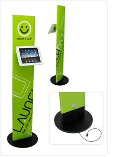 Launchpad-Sprocket iPOS Stand System (iPad kiosk)