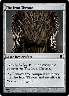 Game of Thrones Magic: The Gathering Cards | The Mary Sue