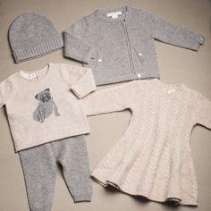 Quand hiver rime avec style et douceur ! Voici un look beige et gris qui séduira garçons et filles.
