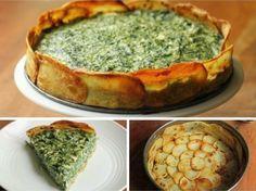 Leg plakjes aardappel in een bakvorm, voeg spinazie toe... het eindresultaat is om te SMULLEN! - Zelfmaak ideetjes