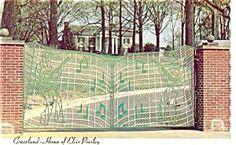 Graceland Elvis Presley Home Postcard