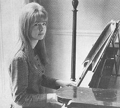 Jane Asher at home