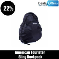 American Tourister Sling Backpack @ 22% Off