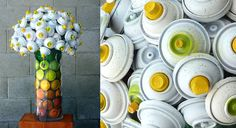 Canlove – Recycled Graffiti Spray Cans Art