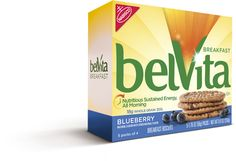 Trying the belVita Breakfast Biscuits as part of my stop eating everything in site plan. The first day was great, but now I just want to eat all the biscuits.