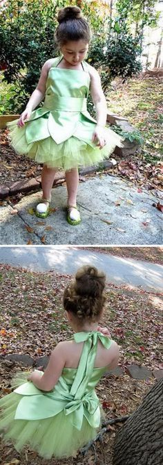 Cool Peter Pan and Tinkerbell Costumes Diy Costumes For Boys, Sibling Halloween Costumes, Boy Costumes, Halloween Diy, Tinker Bell Costume, Peter Pan And Tinkerbell, Costume Tutorial, Young Ones, Tween