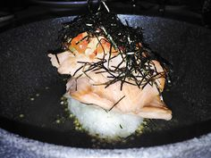 There has got to be a reason that Alan Wong's consistently is listed among Hawaii's best restaurants, right? Well, as far as we're concerned, that reason is the Pan-Seared Salmon Ochazuke.