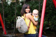 BabyMel - Robyn Stripes Diaperbag – Hello Little Page Girl Diaper Bag, Diaper Bag Backpack, Drawstring Backpack, Diaper Bags, Changing Mat, Convertible Backpack, Bottle Bag, Cleaning Wipes, Stripes