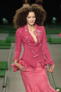 Giacca fuxia di Marithe Francois Girbaud, epoca di Claire Campbell (ora HIGH)  Marithè + François Girbaud Women's fuschia Jacket