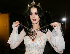 Katy Perry's in the Halloween spirit.
