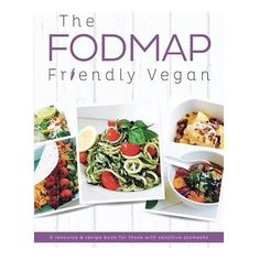 The FODMAP Friendly Vegan eBook:  195 pages (HUGE for an eBook)  65 recipes from each meal category (breakfast beverages soups salads sides & snacks mains sweets)  All recipes are vegan low FODMAP refined sugar & gluten free - with ingredients being chosen for their synergetic properties to enhance nutrient absorption (NERD ALERT! )  Plenty of digestive health & low FODMAP resources (shopping lists guides exercises external resources health benefits of ingredients symptoms journals)  ONLY…