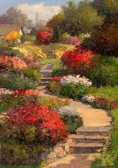 ufukorada:  Kent R. Wallis | American impressionists painter