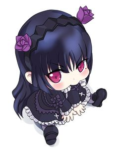 #anime #girl #chibi