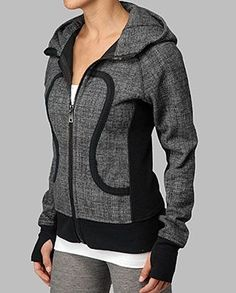 Rhonda's Creative Life: Monday Morning Inspiration/Athleisure Wear - Women's style: Patterns of sustainability Workout Attire, Workout Wear, Athletic Outfits, Sport Outfits, Athletic Wear, Lululemon Scuba Hoodie, Lululemon Yoga, Athleisure Wear, Fitness Fashion