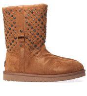 Bruine Ugg laarzen Eliott Studs boots
