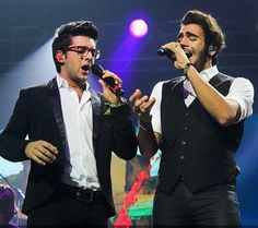 Ignazio and Piero..doing what they do!  ⭐️IL VOLO⭐️