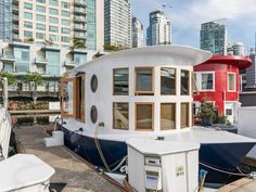 Peek Inside a Tiny Vancouver Houseboat For Sale — House of the Day