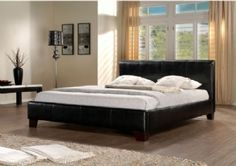 * Summer Sale * * Birlea Brooklyn Fux Leather Bed Frame * * From £125 * * Free Delivery *