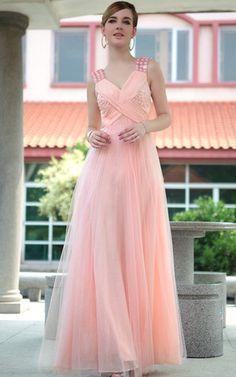 Klassisches Mitte Rücken Festliche Kleid/ Ballkleid ohne Ärmeln