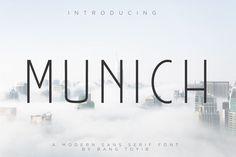 Munich – Modern Sans Serif – Pixelify