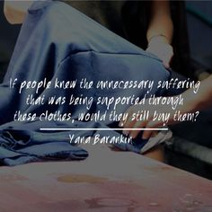 Do you think fast fashion would exist if each garment came with the true back story of how it was made? ⠀ .⠀ .⠀ .⠀ The wonderful reflective quote pictured above comes from an interview I did with one of the designers and founders of @tamgadesigns. If you are interested in what it's really like to run a conscious fashion label head on over and check out this informative interview. Thank you Yana for taking the time to answer some questions for us. ⠀ .⠀ .⠀ .⠀ #sustainablefashion…