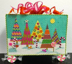 CandyLand Christmas by EyeCandy Needleart