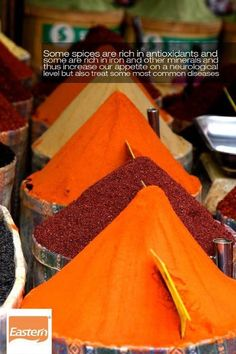 Fact - Spices are rich in antioxidants