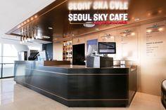 Lotte World Tower Seoul Sky Shop & Sky Cafe by Design BONO, Seoul – Korea