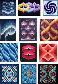 Quilt Inspiration: Best of the Bargellos