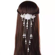 Diy Jewelry Rings, Hair Jewelry, Bridal Jewelry, Beaded Jewelry, Edwardian Jewelry, Tiara Hairstyles, Magical Jewelry, Fantasy Jewelry, Hair Sticks