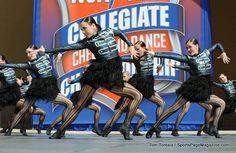 Brigham Young dance team.  (NDA National College Dance Championships, Daytona Beach, FL. April, 2012)