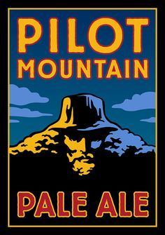 Pilot Mountain, North Carolina, Foothills brewery, Winston-Salem