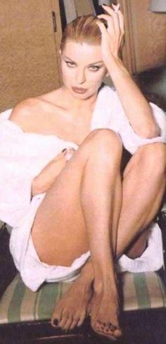 Vecchia foto di Alba Parietti