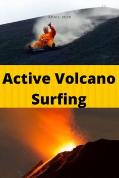 volcano boarding, volcano surfing Nicaragua video  Volcano Surfing or Volcano Boarding is a sport performed on volcano slopes. The most popular slope is the Cerro Negro near Leon in western Nicaragua Chris volcano surfing every weekend, IS IT POSSIBLE active volcano surfing GUIDELINES volcano surfing rules volcano surfing lava volcano surfing Tanna island facts about volcano surfing, the wooden board is used as volcano surfing equipment, visit volcano boarding video YouTube Health And Fitness Expo, 30 Day Fitness, Amazon Work From Home, Some Love Quotes, Nature Iphone Wallpaper, Outdoor Trees, Salad With Sweet Potato, Active Volcano, Easy Food To Make