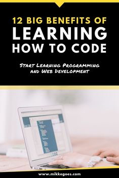 Why Learn Coding? 12 Powerful Benefits From Learning Programming What are the biggest benefits of learning to code? Find out how tech skills like programming and web development can help you launch a new. Learn Computer Science, Computer Coding, Learn Programming, Computer Programming, Technology Updates, Medical Technology, Energy Technology, Technology Gadgets, Futuristic Technology