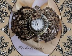 Fantasy Steampunk watch by Pinkabsinthe.deviantart.com