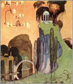 A couple of illustrations from the great Danish artist Kay Nielsen 1886-1957.