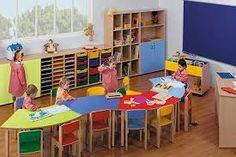 Kids Table And Chairs, Kid Table, Preschool Classroom Layout, Classroom Table, School Building Design, School Furniture, Christian School, Kids Logo, Decoration