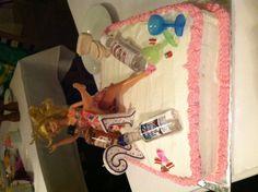 My birthday cake made by mother! #21 #birthday #cake #food
