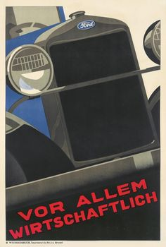 Vintage Racing, Vintage Cars, Ford, Poster Ads, Car Drawings, Commercial Vehicle, Vintage Posters, Automobile, Deco